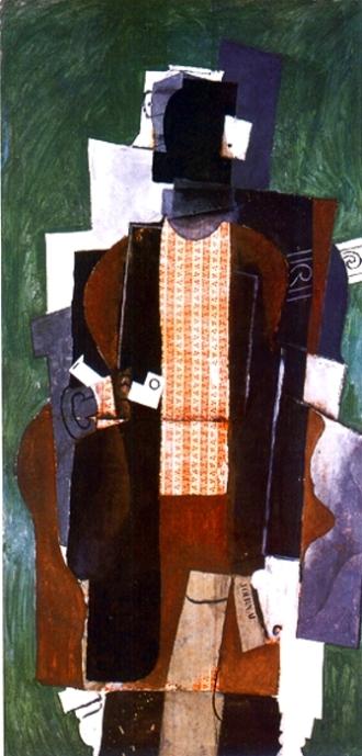 Picasso Homme a la pipe