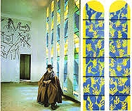 Matisse at the chapel in Vence, n.d.