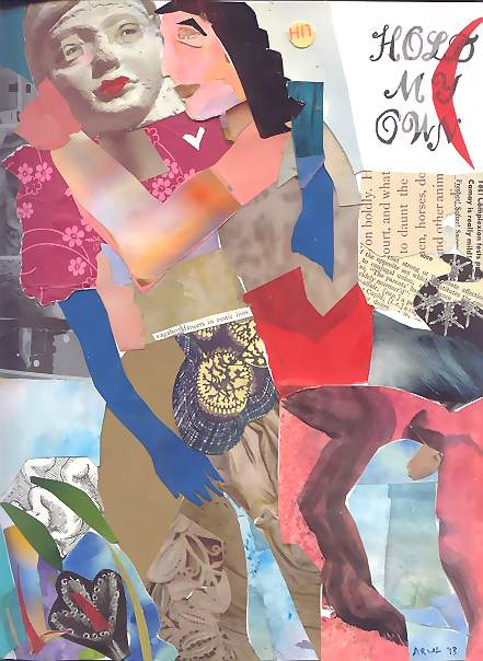 "Ariel, ""Centaur in Love"" My Exquisite Corpse Collage"